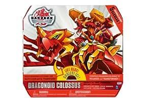 Spin Master 6016152 Bakugan Gundalian Invaders - Figura de Dragonoid Colosus (incluye 5 cartas) [Importado de Alemania]
