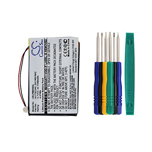 Cameron sino 1100mAh Li-ion Battery IA1TA16A0 IA1W721H2 Replacement For Palm M550 TUNGSTEN T1 T2 T3 Zire 31 71 72 72S Handheld PDA With Tools Kit