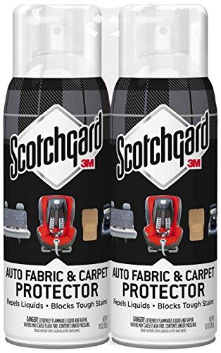 Scotchgard Auto Fabric & Carpet Protector, 2 Cans, 10-Ounces (20 Ounces Total) (Auto Scotchgard)