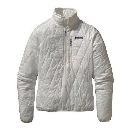 Patagonia - Abrigo Impermeable - para Mujer Blanco S: Amazon.es: Ropa y accesorios