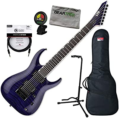 ESP Brian Welch LTD SH-7 Evertune ET FM STP Guitarra eléctrica con ...