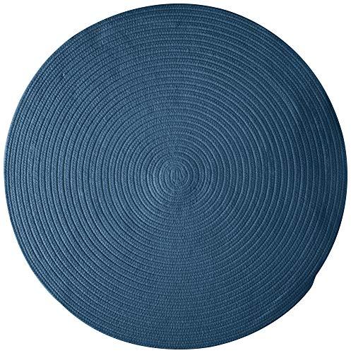 Colonial Mills WL01R036X036 Bristol Area Rug 3x3 Federal Blue