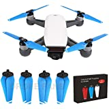 Drone Fans 2 Pairs 4730F Propellers Quick Release Folding Props for DJI SPARK Drone Blue