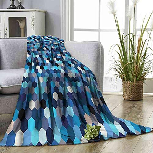 - Big datastore Blanket Abstract,Blurry Rectangulars Blanket Toddler Size:35