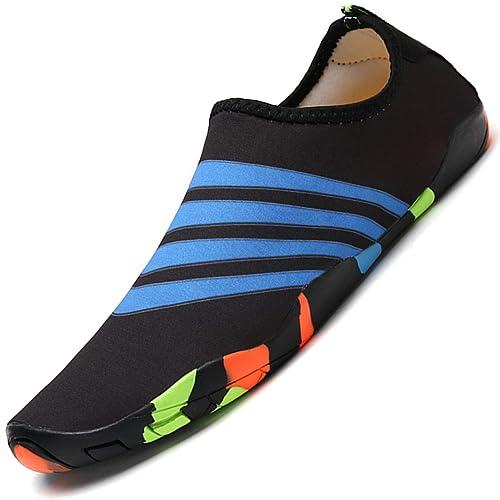 Aqua Shoes Escarpines Hombres Mujer Niños Zapatos de Agua ...