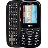 LG Cosmos 2 VN251 Black Verizon Cell Phone / Slide Out QWERTY Keyboard / Ready To Activate On Your Verizon Account