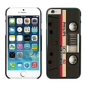 BINGO hot-sale Audio Cassette 3 iPhone 6 plus Case Black