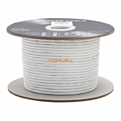 ted 2-Conductor Speaker Cable - 250ft For In-Wall Install. (250 Audio Interconnect)