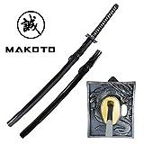 MAKOTO Handmade Sharp Katana Japanese Samurai Sword