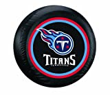 Fremont Die NFL Tennessee Titans Tire Cover, Large Size (30-32'' Diameter)