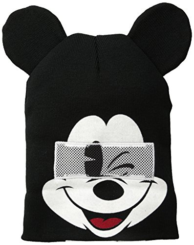 Mouse Down Disney Mickey Ears with Gorra Flip Beanie Knit 5tpSqpx