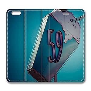 iPhone 6 Case, iPhone 6 Leather Case, Fashion Protective PU Leather Slim Flip Case [Stand Feature] Cover for New Apple iPhone 6(4.7 inch) - Shake