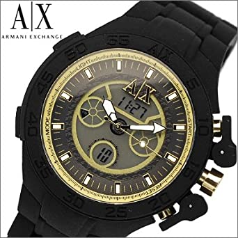 uk availability e4d75 ce492 Amazon | アルマーニエクスチェンジメンズ腕時計 アナログ ...
