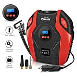 Oasser Air Compressor Tire Inflator Pump Electric Portable Air Infaltor with Digital LCD LED Light Auto Tire Pump 12V DC 150 PSI for Car Truck Bicycle RV and Other Inflatables P6 For Sale