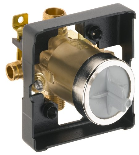 Tub Shower Valve - Delta R10000-MFWS Multi Choice Universal Rough - Cold Expansion Pex with Stops