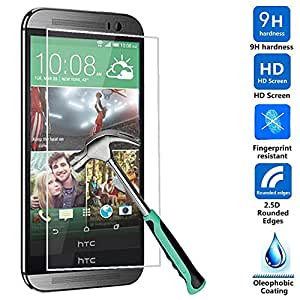 RockSure® HTC One M9 Plus Prima de cristal templado Protector de pantalla de 0,3 mm protectora para HTC One M9 Plus