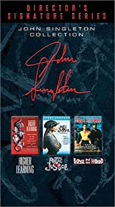 The John Singleton Collection (Boyz N the Hood, Poetic Justice, Higher Learning) [VHS]