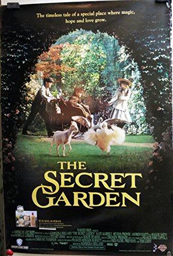 vintage 1993 secret garden video movie poster with st ives rebate - Secret Garden Movie