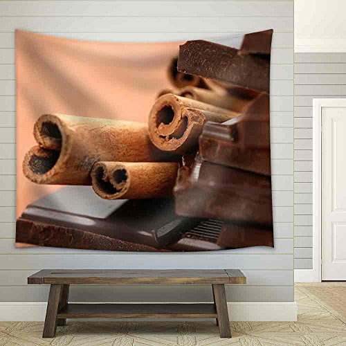 wall26 Close Ups Chocolate Cinnamon Tapestry product image
