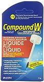 Compund W plus Maximum Strength Salicylic Acid Wart Remover plus Liquid for Plantar Warts 10mL