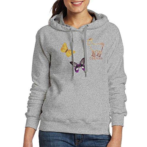 Logan Paul Team Core Member Erica Costell Goat Logo Hoodie Cute Lamb7 Ash - Erica Made Designs