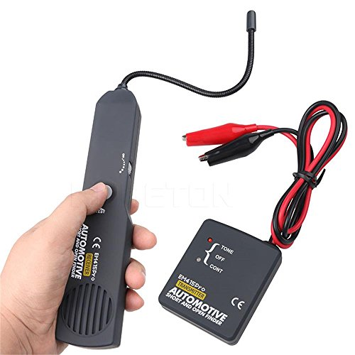 VECANCE Universal Automotive Cable Wire Tracer Diagnose Tone Line Short & Open Circuit Finder Tester - DC 6-42V Car Repair Diagnostic Detector Tool Set by VECANCE (Image #6)