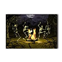 20X30 Inch Poster Bone Dance Gothic Scary Halloween Wall Sticker Wall Poster