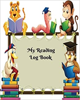 My Reading Log Book Kids Reading Record For Tracking