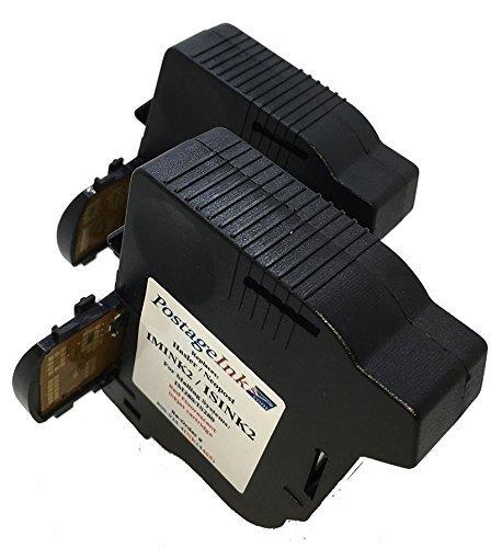 Hasler IMINK2 (2-Pack) Red Ink Cartridges compatible for Hasler IM280 Postage Meters.
