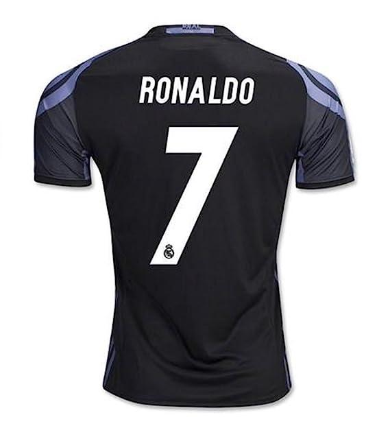 4e1d8f3430b  7 Ronaldo Real Madrid Home Kid Soccer Jersey   Matching Shorts Set (1st  Away
