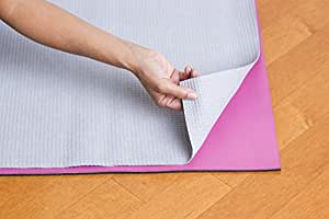 "Hot Yoga Microfiber Mat Towel - Non Slip, Both Sides Grip - by Yogazorb - 25""x72"" (Graphite)"