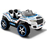 Kid Motorz Dune Runner 2 Seater Space Adventure 12V Electric Ride On with Sound, Daytime Running Led...