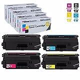 Clever Supplies© Compatible Toner Cartridges 4 Color Set for Brother TN-336 (TN336BK, TN336C, TN336M, TN336Y), HL-L8350, L8250, L8250CDN, L8350CDWT, L8350CDW, MFC-L8600, L8850, L8600CDW, L8850CDW by Clever Supplies