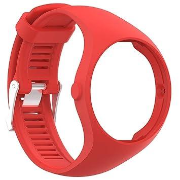 KOBWA Polar M200 Correa de Reloj, Correa de Silicona de Repuesto para Polar M200 Fitness Watch: Amazon.es: Deportes y aire libre
