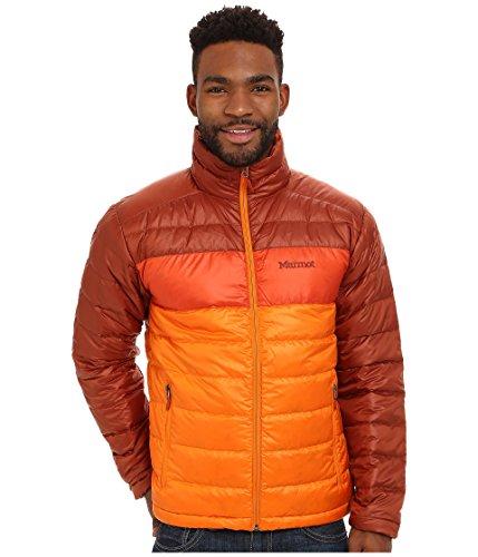 Marmot Men's Ares Jacket, Vintage Orange/Mahogany SM