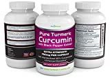 Turmeric Curcumin Complex with Black Pepper Extract - 750mg per Capsule, 180 Veg. Caps - Contains Piperine (For Superior Absorption and Tumeric Bio-availability) and 95% Standardized Curcuminoids - 518SBFM7MZL - Turmeric Curcumin Complex with Black Pepper Extract – 750mg per Capsule, 180 Veg. Caps – Contains Piperine (For Superior Absorption and Tumeric Bio-availability) and 95% Standardized Curcuminoids