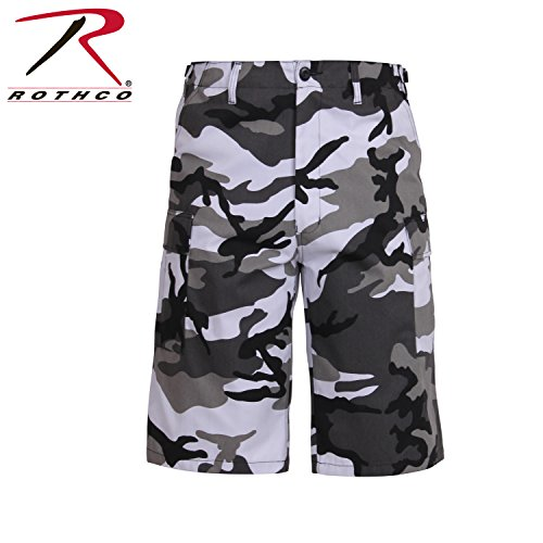 Camouflage Shorts Xtra Long City Camo Fatigue Shorts Xlarge