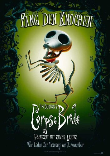 Amazon Com Movie Posters Tim Burton S Corpse Bride 11 X 17