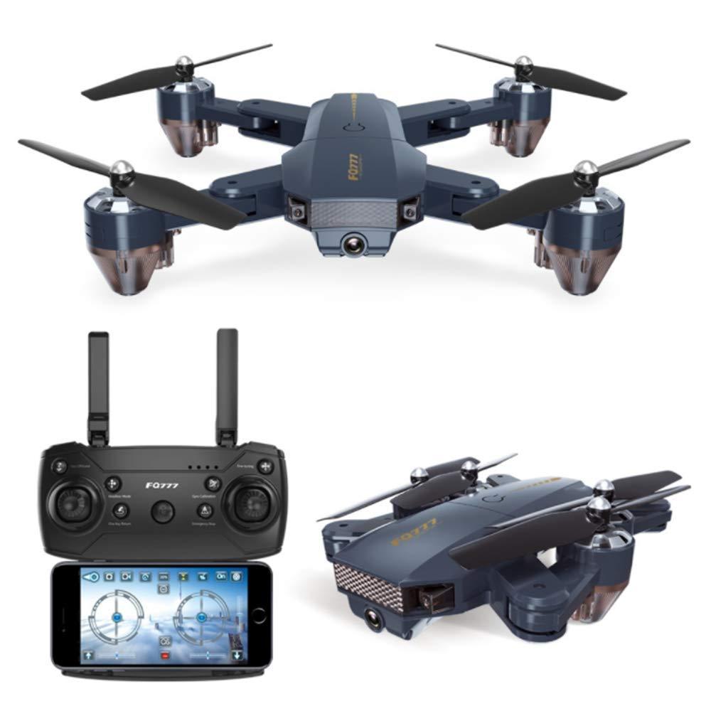 YWT Faltbarer WiFi Drone Quadcopter, 720P HD-Kamera, Flugbahn, Höhenlage, 3D-Flip, Headless-Modus, One-Button-Return, APP-Steuerung