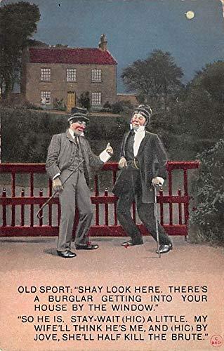 Comic Postcard 1912