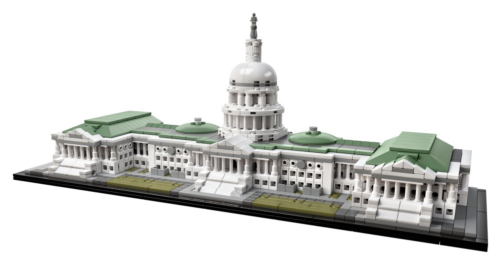 LEGO 21030 Architecture United States Capitol Building: LEGO: Amazon ...