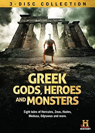 Image result for greek gods, heroes, monsters  dvd
