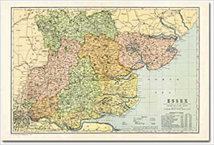 Buy Essex Cassini Historical Map BCOESX Cassini Bacon - Buy historical maps