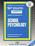 School Psychology, Rudman, Jack, 0837384508