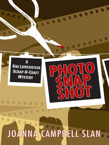 Download Photo Snap Shot (A Kiki Lowenstein Scrap-N-Craft Mystery) pdf