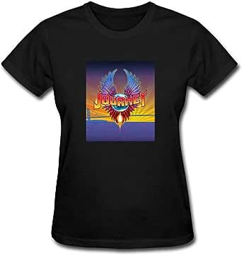 Duanfu Journey Band Women's Cotton Short Sleeve T-Shirt