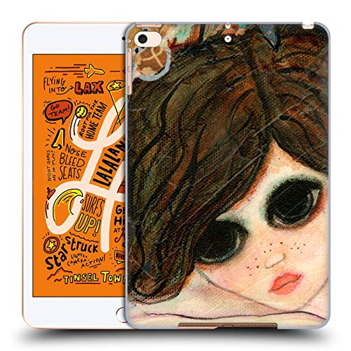 Official Wyanne Daydream Garden Big Eyed Girl 2 Hard Back Case Compatible for iPad Mini (2019)