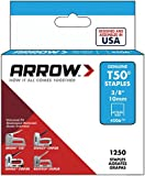 Arrow A50624 T50 Staples, 3/8 Inch (10 mm)