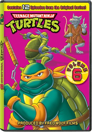 Teenage Mutant Ninja Turtles: Season 6 Reino Unido DVD ...