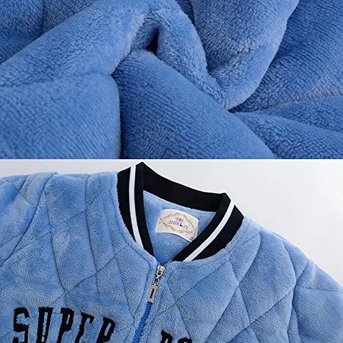 Para Peluche Corta De Pijamas Sleepyhead Albornoz Y Microfibra Bata Mujer Suave Olliuge Acolchado Blue RnPCB5pq5w